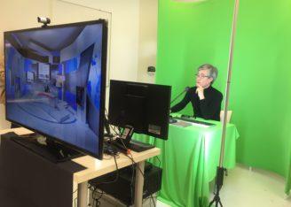 Werken met green screen