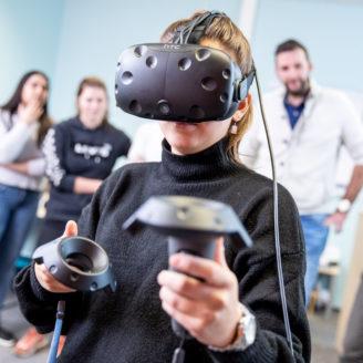 VR body lab