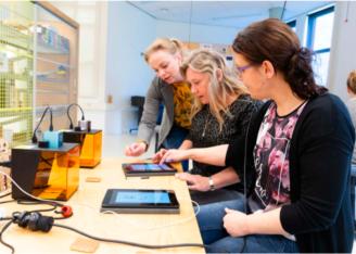 Rapport monitor leren en lesgeven met ict in mbo