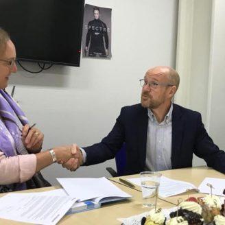Nieuw overeenkomst getekend met ROC De Leijgraaf