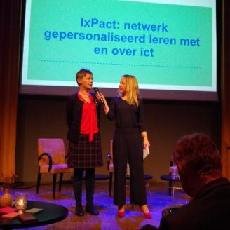 Lancering iXpact, netwerk gepersonaliseerd leren met en over ict