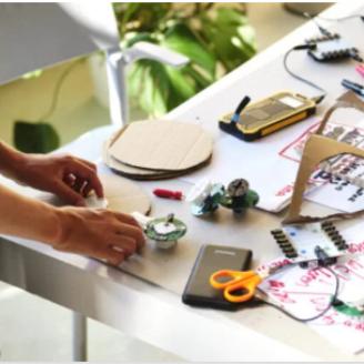 Build Your Own Robot kits te leen!