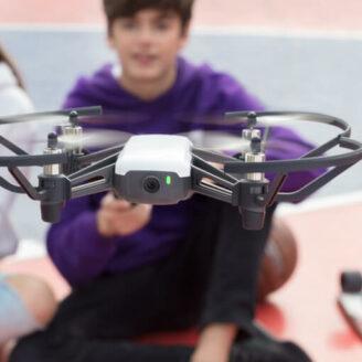 Drone Challenge op basisschool Confetti